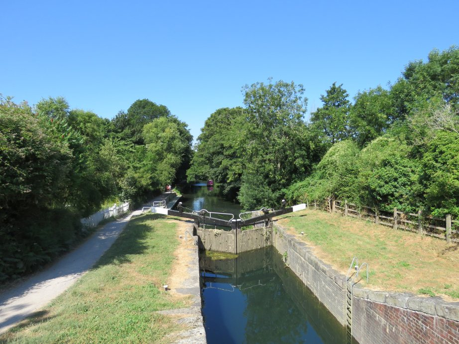 Lock on Stroudwater Navigation